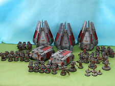 WARHAMMER SPACE WOLVES ARMY MANY UNITS TO CHOOSE FROM