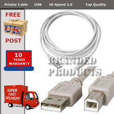 Canon Pixma Printer Data USB 3m metre Cable Lead High Speed Male A to Female B
