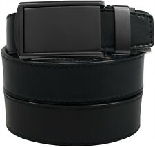 SlideBelts Factory Seconds Matte Black Buckle Ratchet Belt