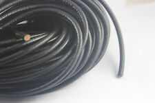 3/10 Meters 5mm Black Round Real Leather Cord Necklace Bracelet Making Cord