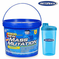 NEW MASS MUTATION 2,27kg /5lbs Weight Gainer Muscle Mass Gain Whey Protein Carbs