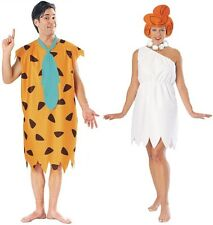 Couples Flintstones Fred and Wilma Adult Costume Cartoon Funny Cosplay Halloween