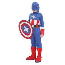 VG0004 childrens cosplay costume Warrior armor Captain America Shield clothing