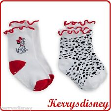 GENUINE DISNEY 101 DALMAT SOCK SET FOR BABY 2 PACK LADY AND THE TRAMP