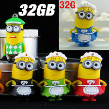 Despicable Me Minions Maid Housewife Golf Player 32GB 32G USB Flash Drive Stick