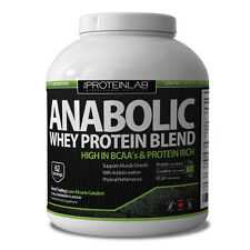 ANABOLIC WHEY 62 SERVINGS 100% PROTEIN POWDER SHAKE MUSCLE GROWTH MATRIX 2.25KG