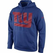 New York Giants MENS Sweatshirt Performance Pullover Hoodie Warp by Nike