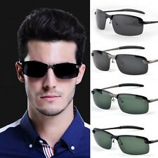 Men's Goggles Sunglasses Driving Rimless Outdoor Sports Eyewear Cool Glasses