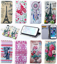 Wallet Case Cover For Samsung Galaxy S3/4/5 mini Note3/4 S7562 i8262 i9190 i8190