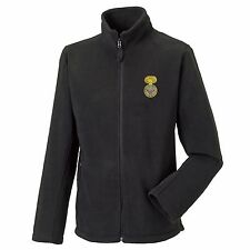 Royal Welch Fusiliers Full Zip Fleece Embroidered Logo