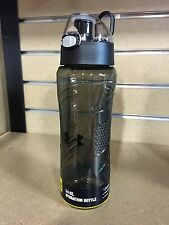 Under Armour Draft 24 oz. Bottle with Flip Top -Black & Blue