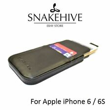 Snakehive Apple iPhone 6 (4.7 inch) Genuine Leather Pouch Case with Pull Tab