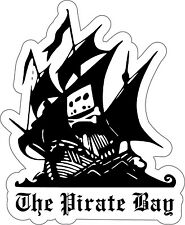 THE PIRATE BAY Sticker Decal *MANY SIZES* Wall Truck Car Wall Vinyl