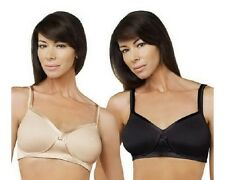 Breezies Set of 2 Full Coverage Wirefree Bras w/UltimAir A216456