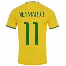 Nike Brazil Mens Neymar Jr 11 Home Jersey 2014 2015 Football Soccer