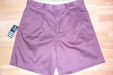 NEW MENS WINE SHORTS KINGS CLUB BY INVICTA SIZE 32 34