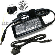 New Genuine Original Toshiba Laptop AC Power Adapter Charger 65W 19V 3.42A for