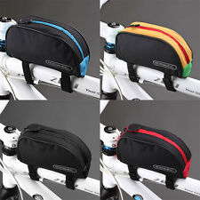 Roswheel 1L Bicycle Cycling Frame Front Top Tube Bag Outdoor Mountain Bike Pouch