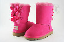 Kids UGG Australia Bailey Bow Boot 3280K Cerise 100% Authentic Brand New So Cute