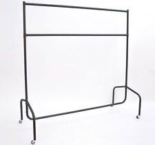 Clothes Rail 130kg Max Load 4FT 5FT 6FT Width Display Stand Rack Stock Shop