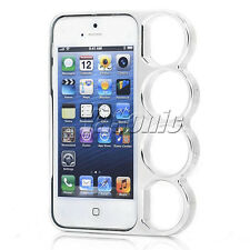 1 CHEAPEST Rings Knuckles Hard Snap Bumper Back Frame Case Cover For iPhone 5 5S