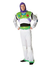 Adult Licensed Disney Buzz Lightyear New Outfit Fancy Dress Costume Toy Story BN