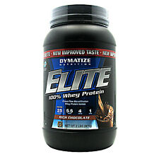 DYMATIZE NUTRITION ELITE WHEY PROTEIN ISOLATE 2LBS Free Shipping SALE