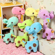 Plush Giraffe Soft Toys Animal Dear Doll Baby Kids Children Birthday Gift 1pcs