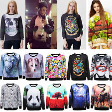 Womens Mens 3D T-shirt Sweater Sweatshirt Hoodie Pullover Tops Tracksuit Jumpers