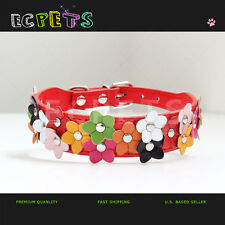 HIGH QUALITY FANCY FLOWER DOG/CAT PETS COLLAR CHERRY BLOSSOM FOR  CHRISTMAS GIFT