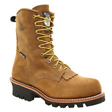 Georgia Insulated GORE-TEX Steel-Toe Logger Work Boots G9382