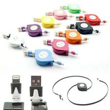 Retractable USB Data Sync Charger Cable for iPhone iPad 4 5 6 Air 1/2 Mini 2/3/4