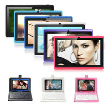 """7"""" A33 Quad Core 8GB Tablet PC Android 4.4 WiFi 1.6GHz w/ Micro USB Keyboard"""