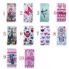 Deluxe C Owl Elephant Wallet Leather Flip TPU Case Cover For Nokia Lumia 520/630