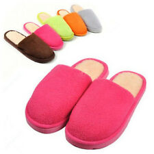Hot Indoor House Women Lady Men Lovers Soft Warm Slippers Anti slip Sweet color