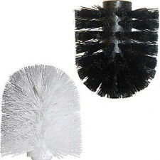 Replacement Toilet Brush Head White Black Bathroom Accessory By Showerdrape