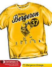 PATRICE BERGERON (NHL073) BOSTON BRUINS NHLPA VINTAGE SERIES SHIRT 100% COTTON