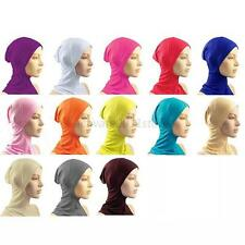 Under Scarf Hat Cap Bone Bonnet Hijab Islamic Head Wear Neck Chest Cover A89