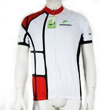 Men's Cycling Jersey Bicycle Sport Wear Clothing Short Sleeves Shirt Top S-3XL
