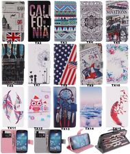 Fashion Wallet Flip PU Leather Soft Back Cover Lovely Case For Samsung For SONY