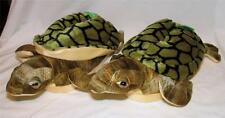 Happy Feet Animal Slippers Sea Turtle Adult Sizes New Thick & Comfy