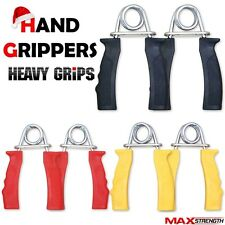 Heavy Duty Exercise Hand Gripper Forearm Wrist Palm Strength Training Grippers