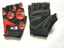 Kids Gloves Junior Cycling Cartoon Character Angry Birds Printed Children Gloves