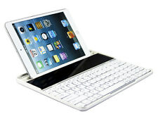 Mobile Solar Ultra Wireless Bluetooth Keyboard for iPad Air/4/3/2 Black/White