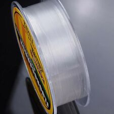 100M 4.4LB-35.2LB Fluorocarbon Fishing Line Color Clear Material From Japan