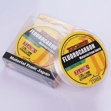 150M 4.4LB-35.2LB Fluorocarbon Fishing Line Color Clear Material From Japan