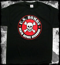 US Bombs - Death Before Dishonor t-shirt - Official Merch