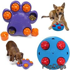 KYJEN Dog Games MINI Interactive Treat Hiding Puzzle Toy for Small Dogs / Puppy