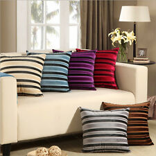 Colored corduroy Square Sofa Home Bed Decorative Throw Pillow Case Cushion Cover