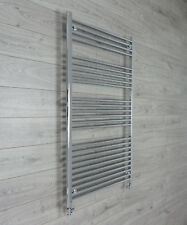 800mm Wide 1400mm high Bathroom Heated Towel Rail Radiators Rad Chrome Straight
